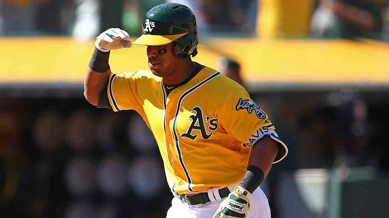 Athletics' slugger Khris Davis goes on DL with groin strain