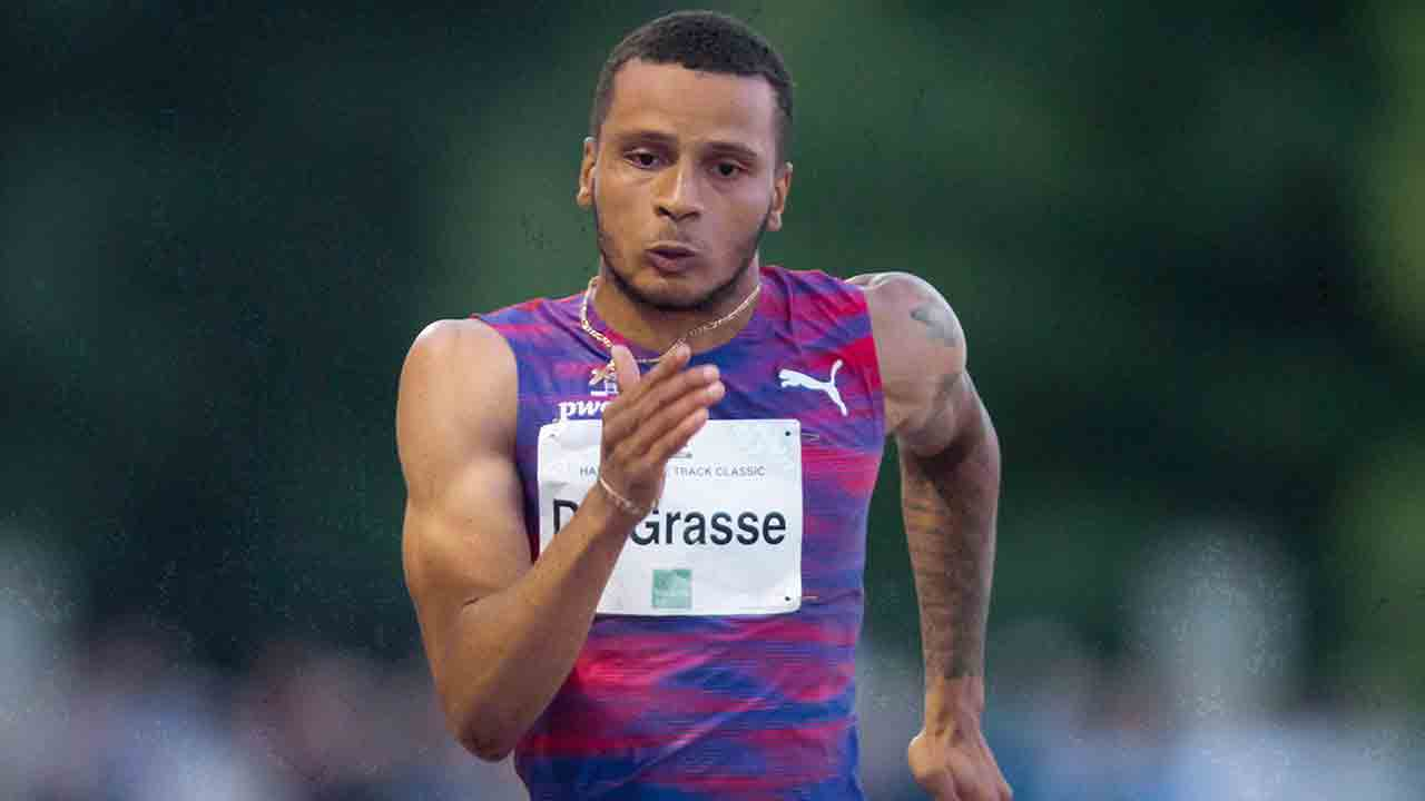 De Grasse posts strong time to win silver at Nanjing World Challenge - Sportsnet.ca