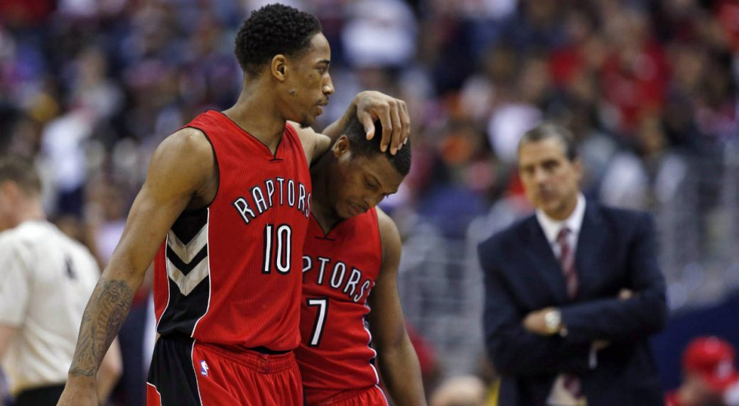 Raptors overcome ominous start, buck Game 1 curse to fend off Wizards