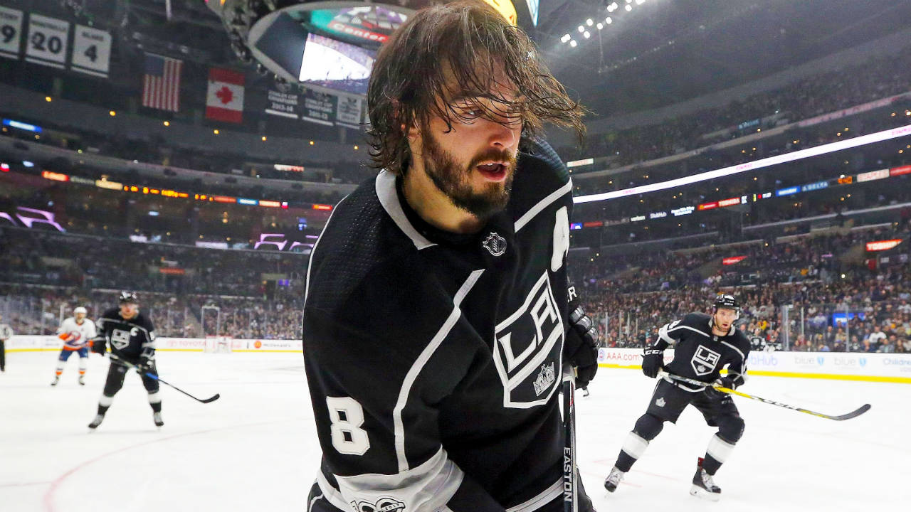 kings drew doughty on his one game suspension i think it s bs rh sportsnet ca