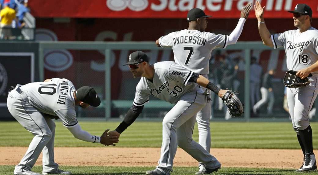 Fulmer, Palka, White Sox beat KC to open doubleheader