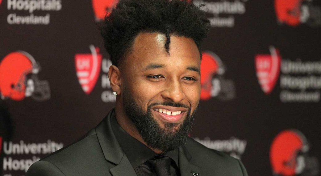 Tyrann Mathieu stands up for Jarvis Landry's big new contract
