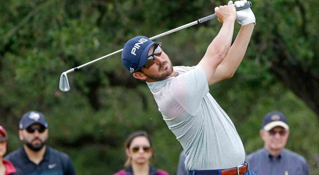 Trey Mullinax sets course record 62 at Texas Open