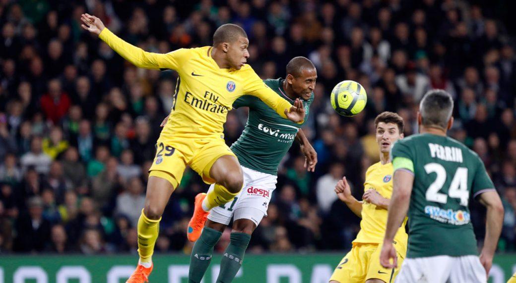 Man Paris Saint Germain Salvages Draw At Saint Etienne