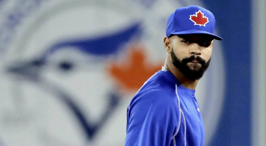 Blue Jays SS Diaz carted off with ankle sprain