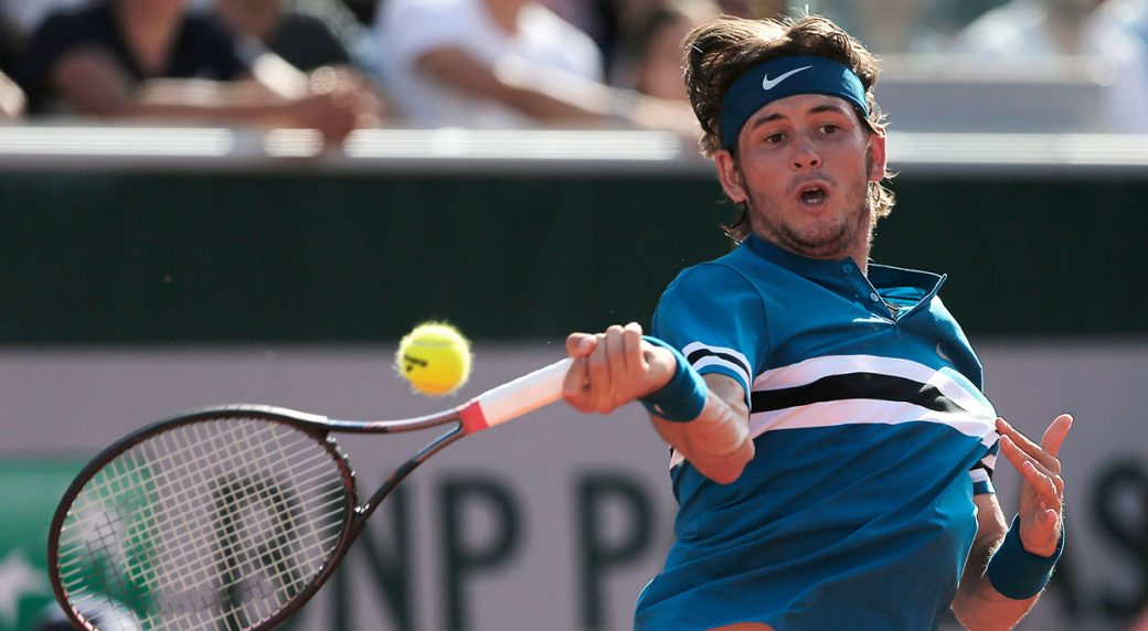 Jared Donaldson Makes Like Michael Chang Serves Underhand