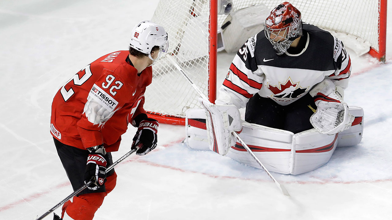 Canada loses to Switzerland in semis of men's world championship