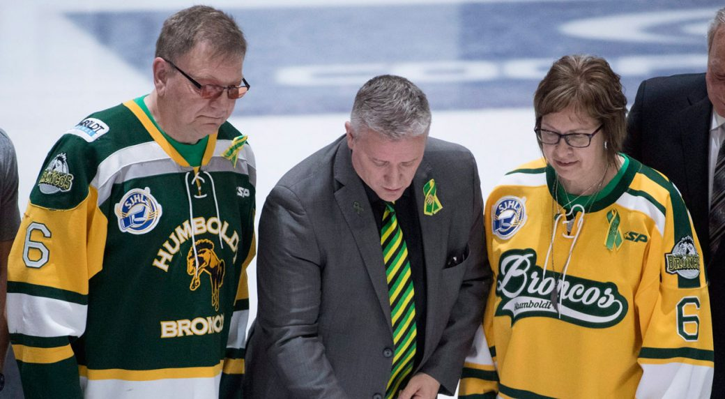 Humboldt Broncos Honoured With Standing Ovation At Memorial Cup