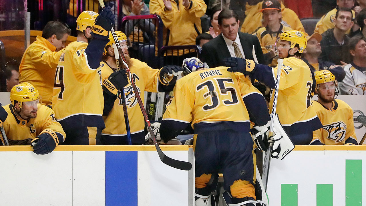 Preds  Rinne says he let his teammates down   It s a terrible feeling  00f2ec0cc1c