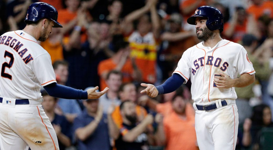 b770242257a Houston Astros use big 7th inning to get win over Seattle Mariners