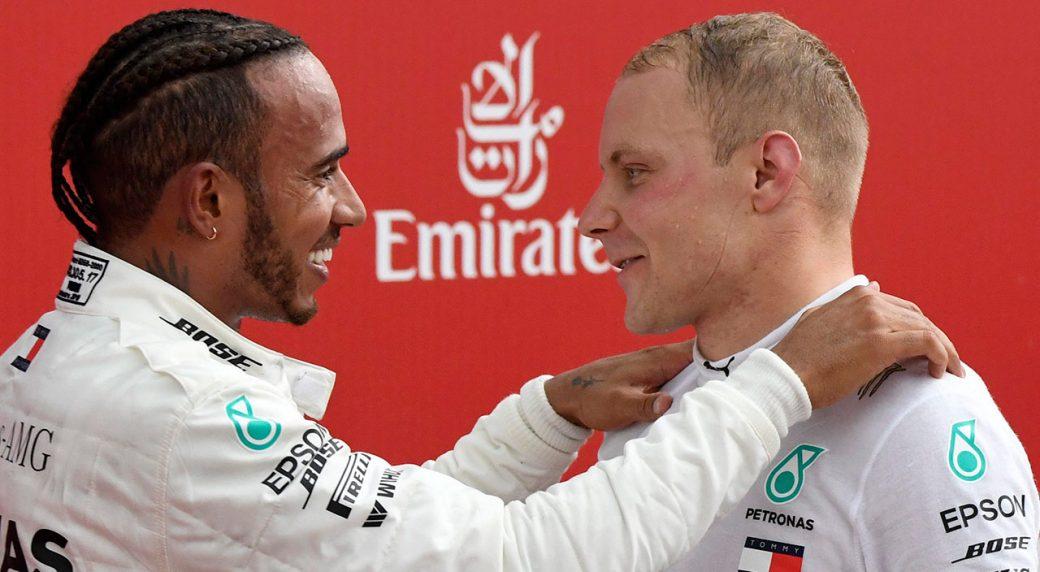 Hamilton & Bottas, podwójne zwycięstwo w GP Niemiec