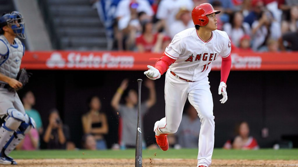 79475ccd165 Shohei Ohtani hits pinch-hit homer to lift Angels over Dodgers -  Sportsnet.ca