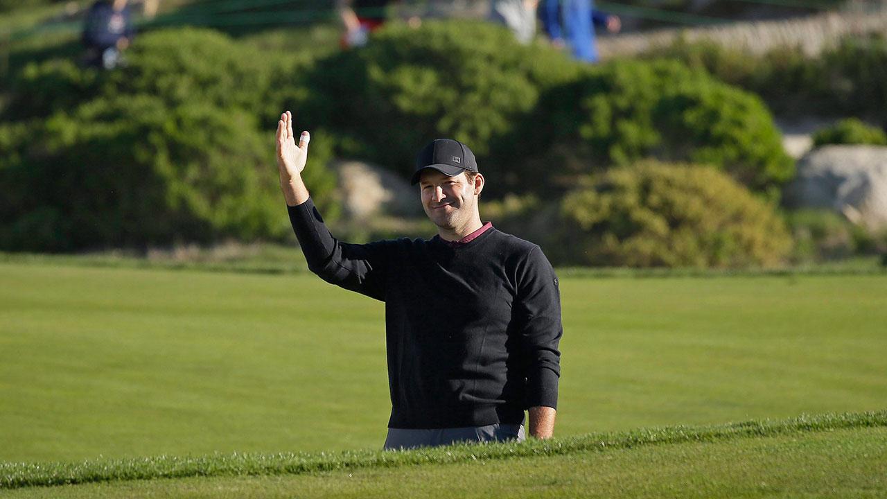 Tony Romo rallies to win celebrity golf tournament