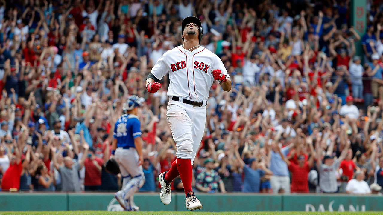 Red Sox beat Blue Jays on Bogaerts' walk-off slam in 10th