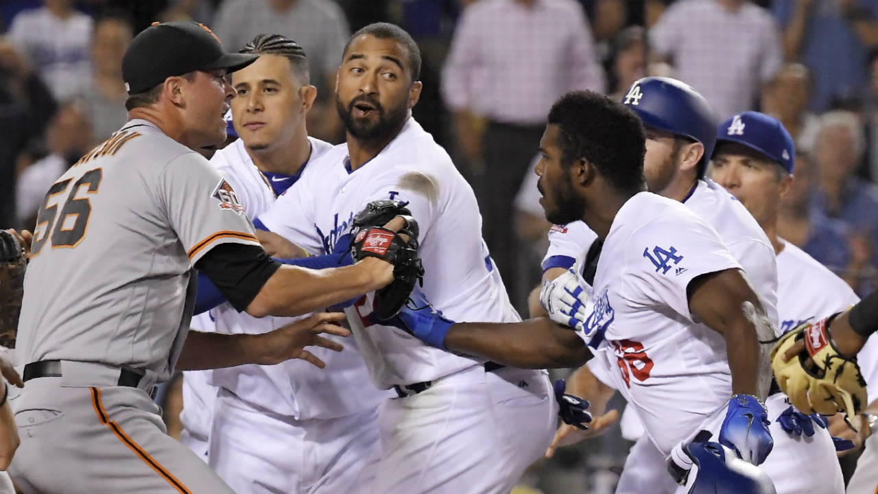 Dodgers' outfielder Yasiel Puig suspended two games