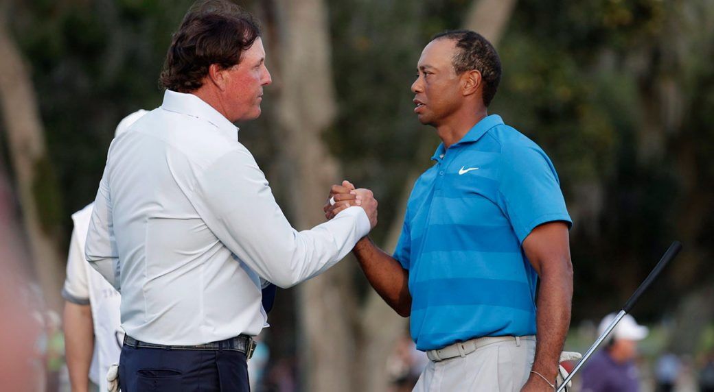 Tiger Woods vs. Phil Mickelson head-to-head golf event set for Thanksgiving weekend