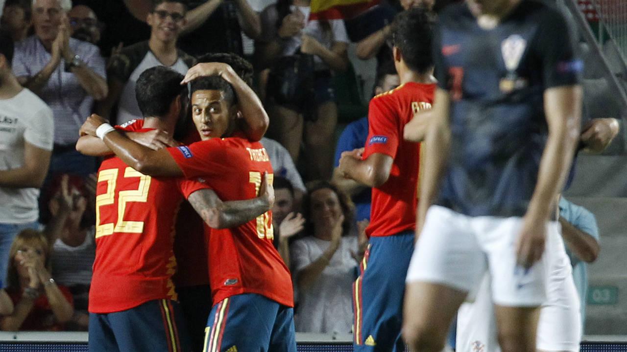 Luis Enrique's Spain routs Croatia in Nations League