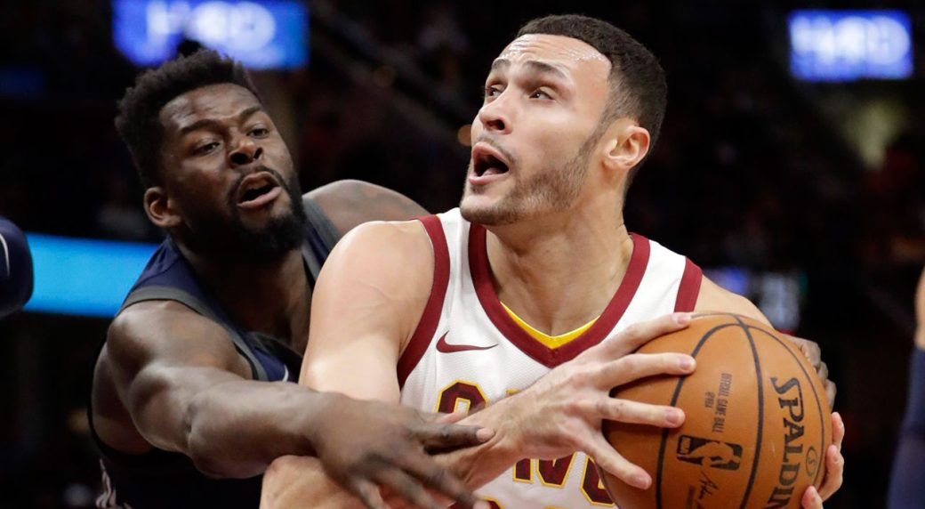 Larry Nance Jr's sit down with Jamie Redknapp