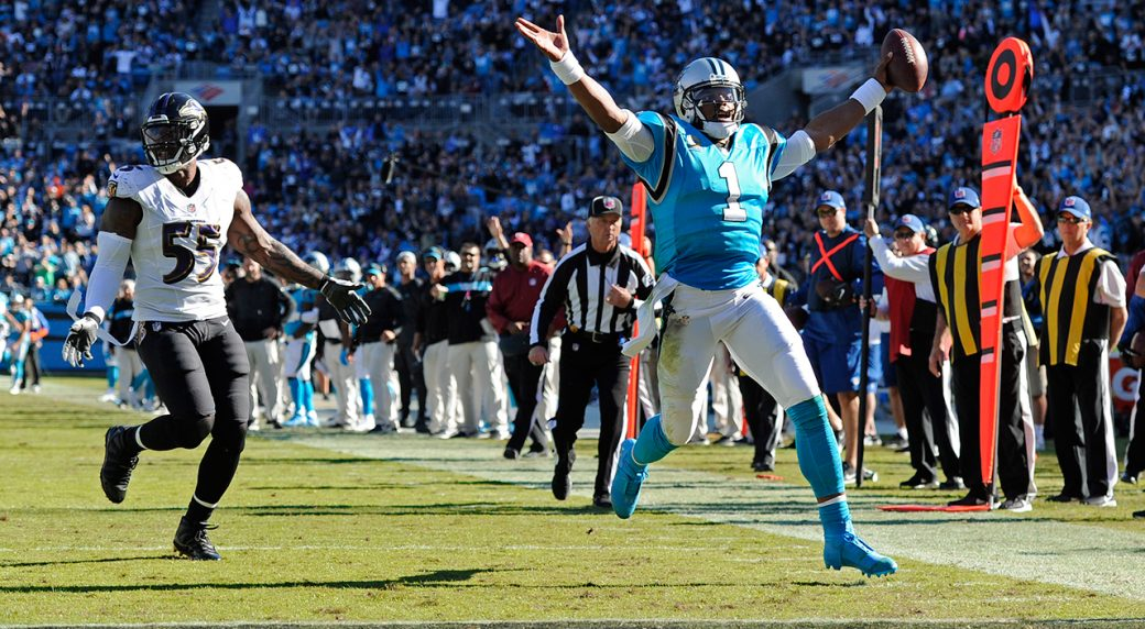 a89689d6 NFL Power Rankings Week 9: Cam Newton's Panthers on the rise ...