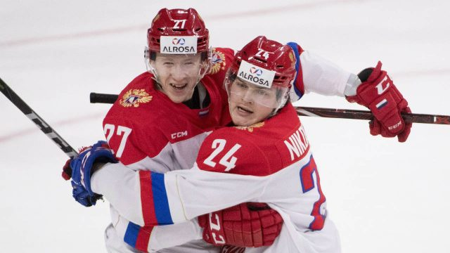 Stepan Starkov Scores Late Winner, Russia Beats WHL