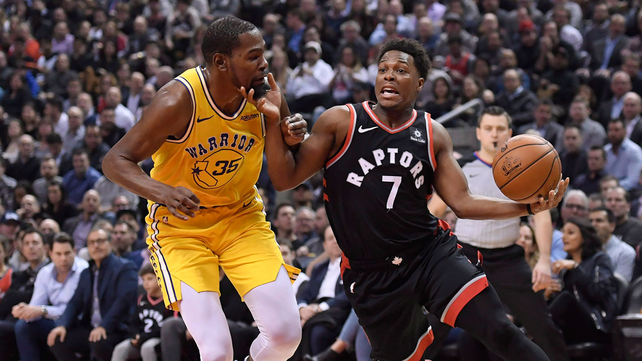 Warriors' Durant: Raptors 'not an up-and-coming team' anymore