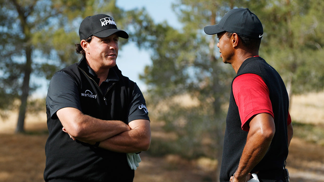 Phil Mickelson - Tiger-Woods-Match