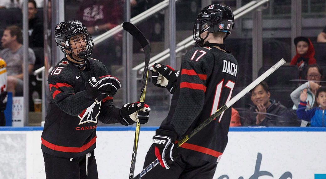 CHL: Cozens, Dach Headline Selections For Top Prospects Game