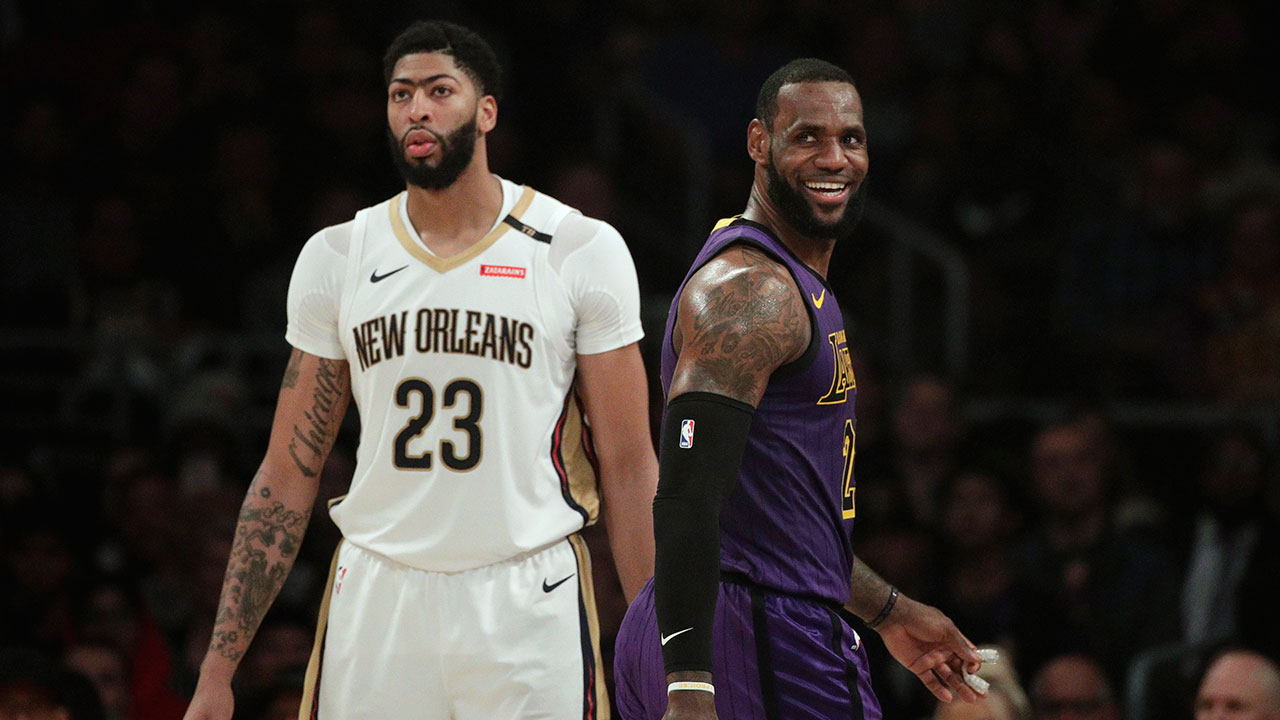 795e3705382 AP Source: Lakers, Pelicans agree on Anthony Davis blockbuster -  Sportsnet.ca
