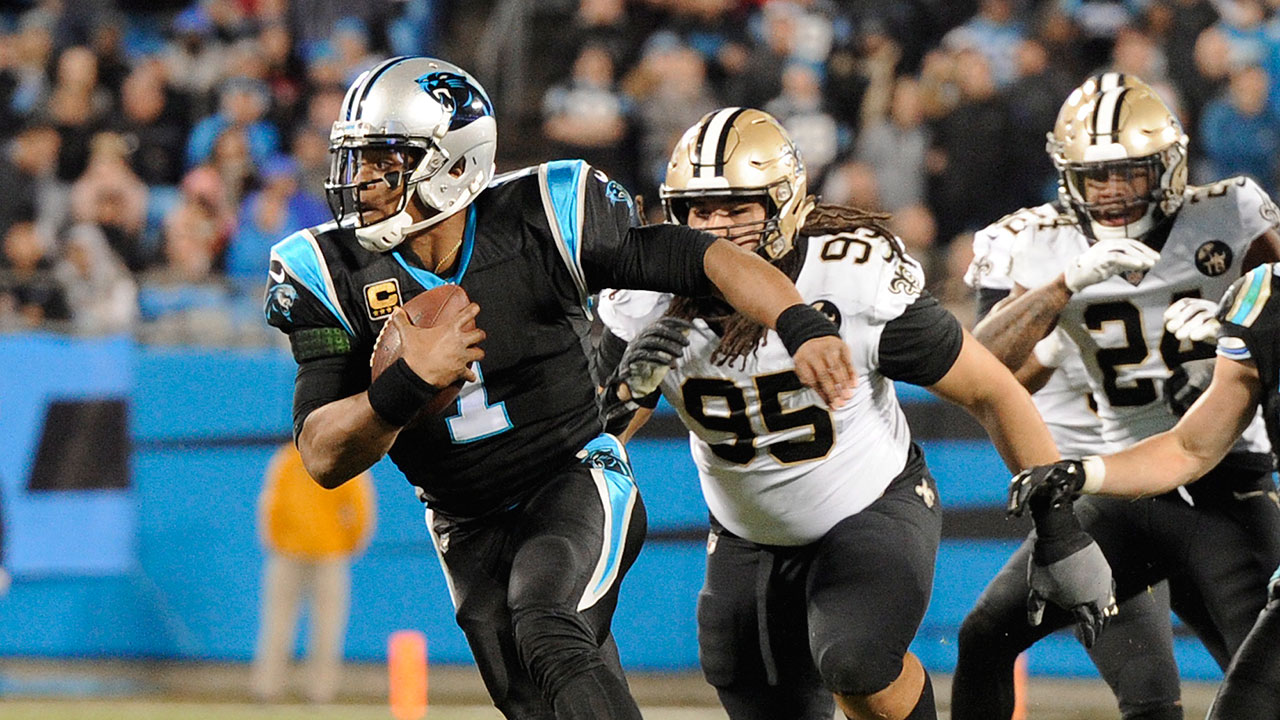 Saints defence shuts down Newton in win over Panthers