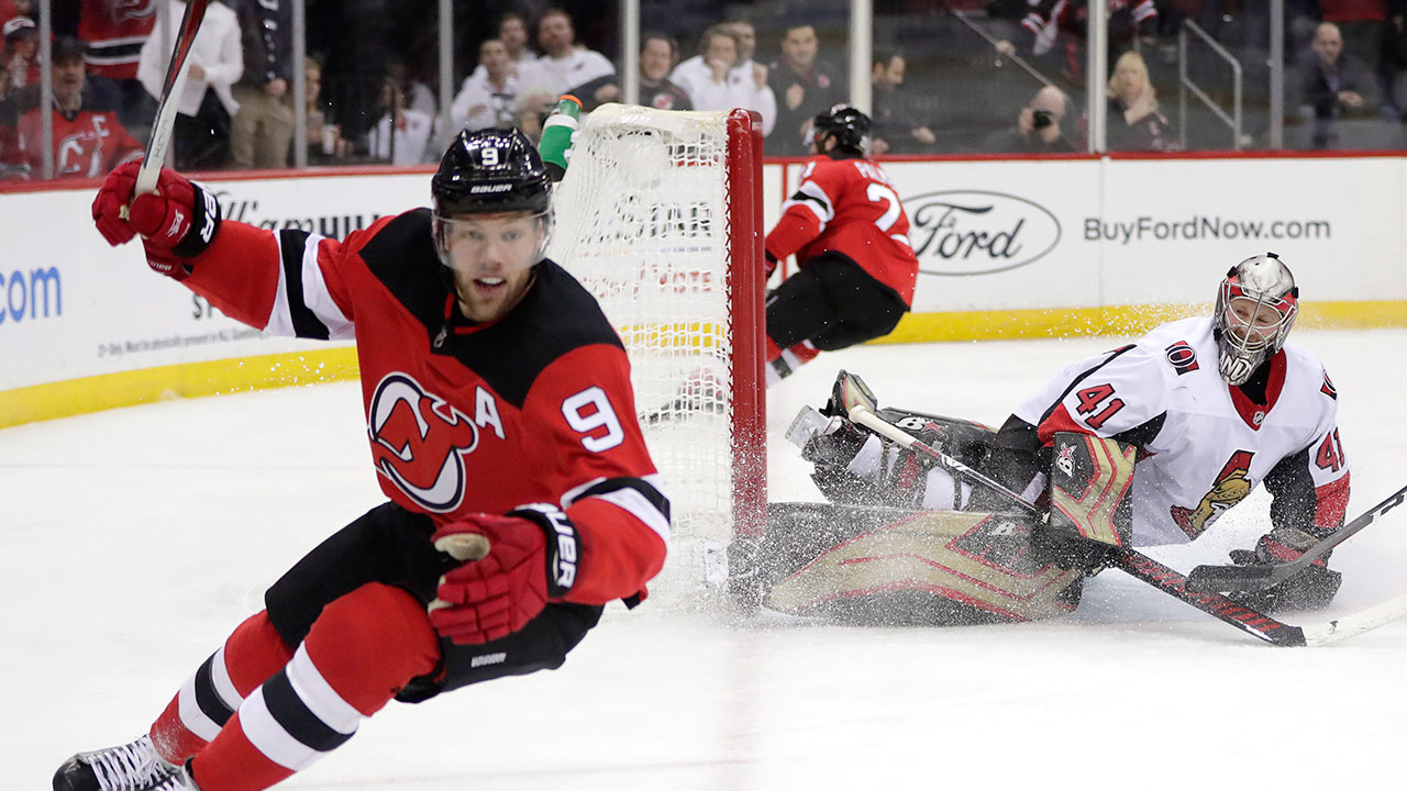 Point To Point. Taylor Hall's 2 And 2 Lifts Devils Past Senators
