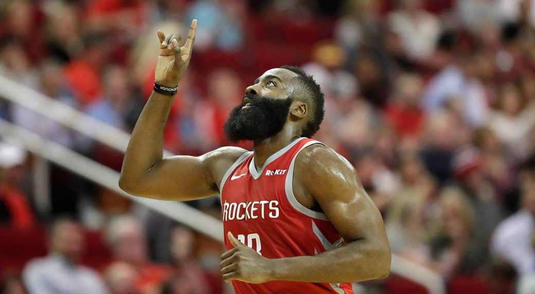 The must-see numbers from James Harden's incredible hot streak