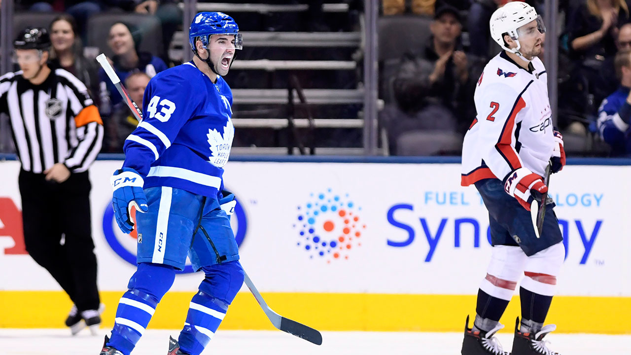 Kadri Does The Trick For The Leafs In A Big Win At Home