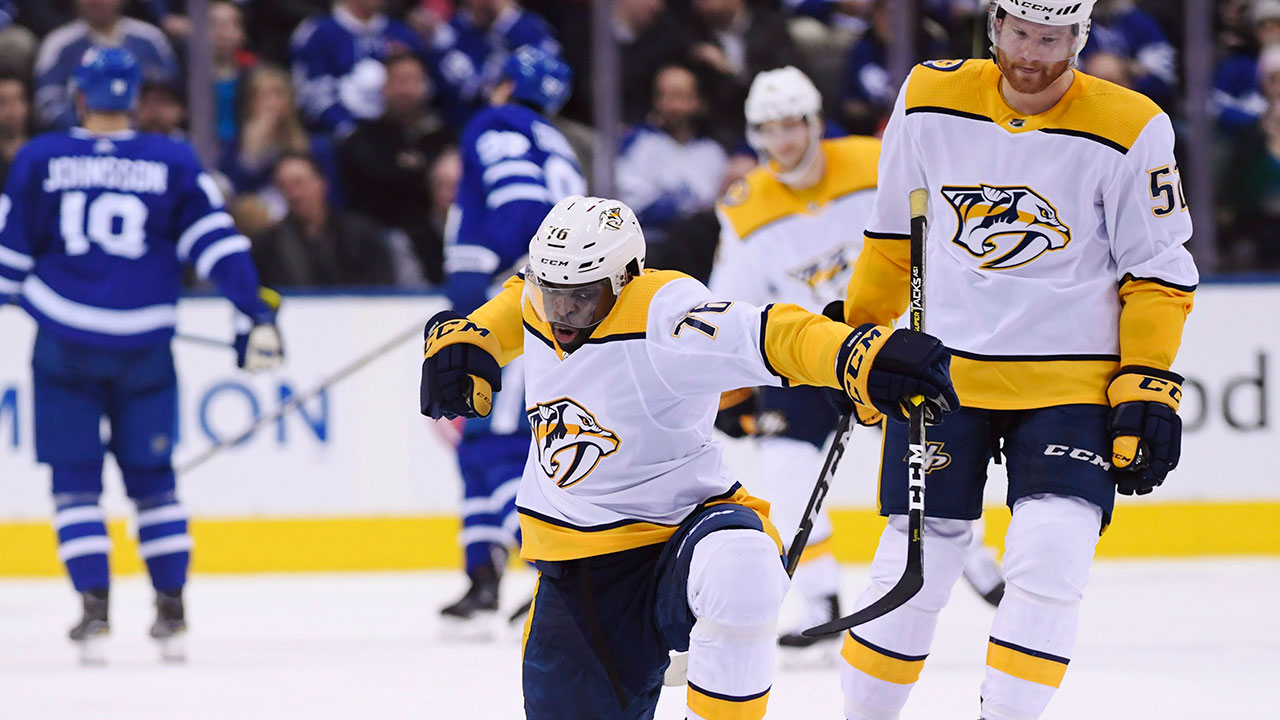 Four On The Floor. Preds Roll Over Leafs As Rinne Records Yet Another Shutout