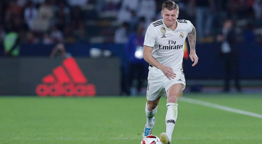 df8f13796d01 Madrid's Toni Kroos out up to 3 weeks due to muscle injury ...