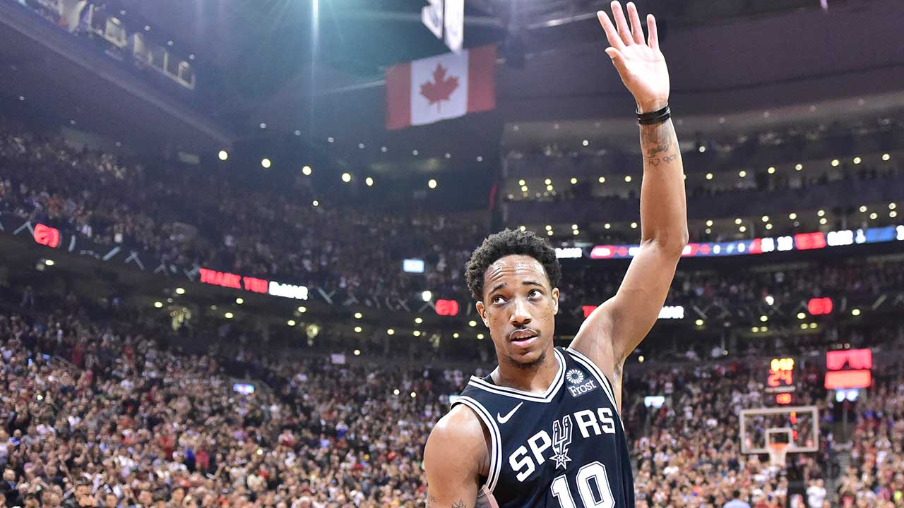 8c738896bc4 DeMar DeRozan says he 'had to be the sacrificial lamb' for Raptors -  Sportsnet.ca