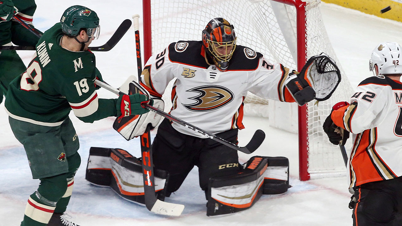 44th Career Shutout For Miller As Ducks Tame The Wild