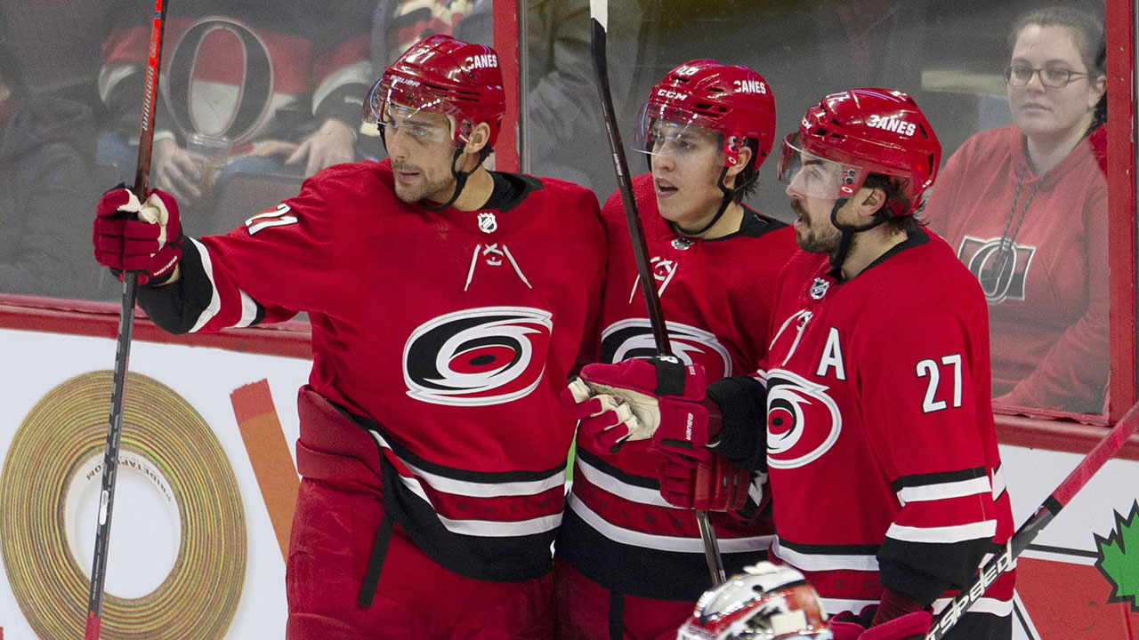 Senators Buckle Under Hurricanes' Power