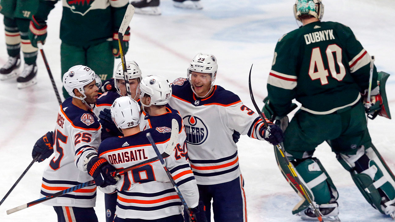 Something To Celebrate. Edmonton Picks Up A Rare Win In Minny