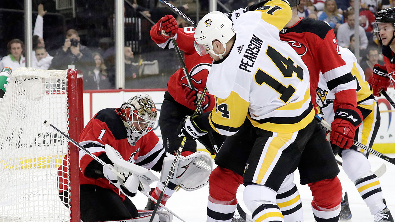 Pittsburgh Saves Face With A Win Over New Jersey
