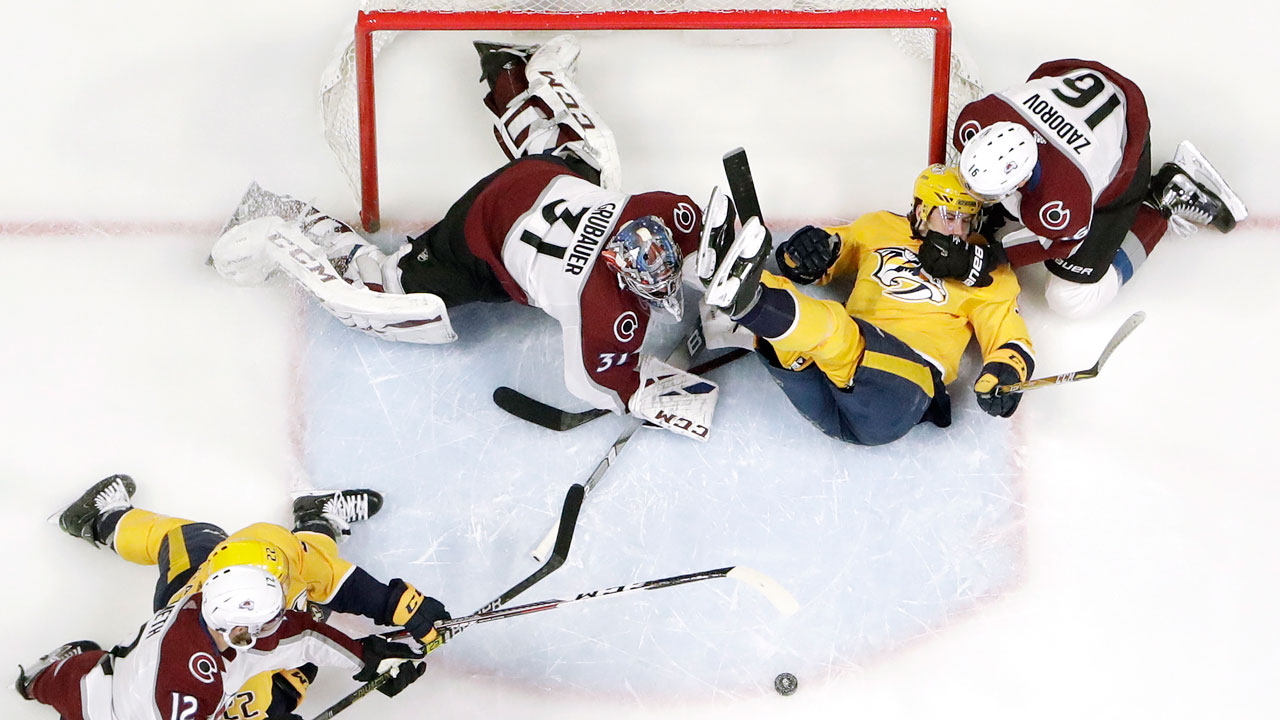 Reversal Of Fortunes. Once Red-Hot Preds Fall To Streaking Avs