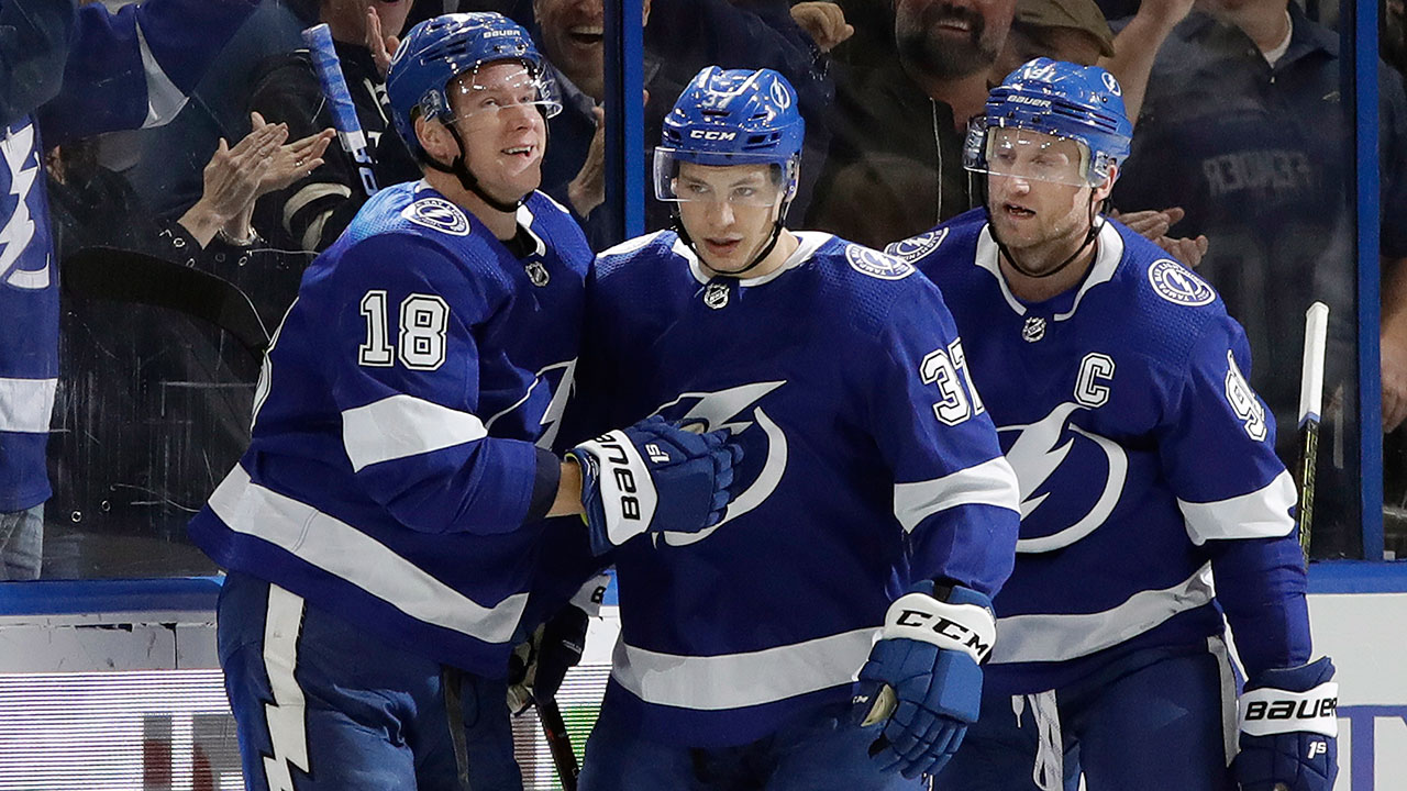 Lighting The Lamp. Kucherov Ties Lecavalier's Record in Tampa Bay