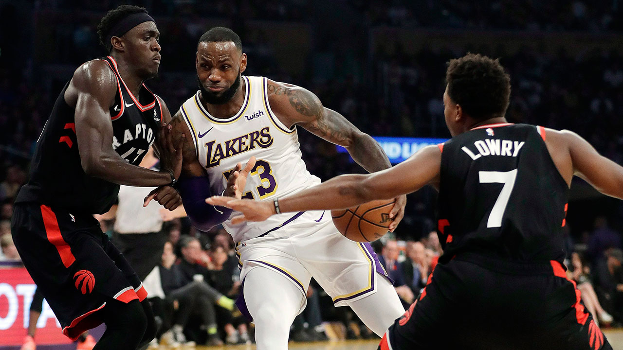 Raptors home to face Lakers as favourites on NBA odds
