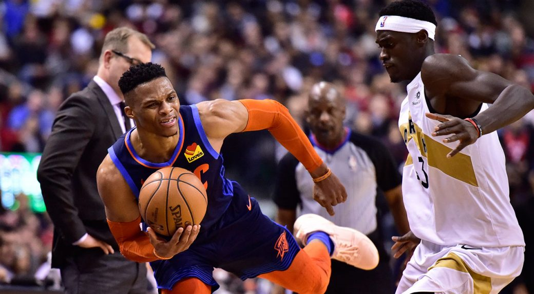 Raptors fall to Thunder in second half of home-and