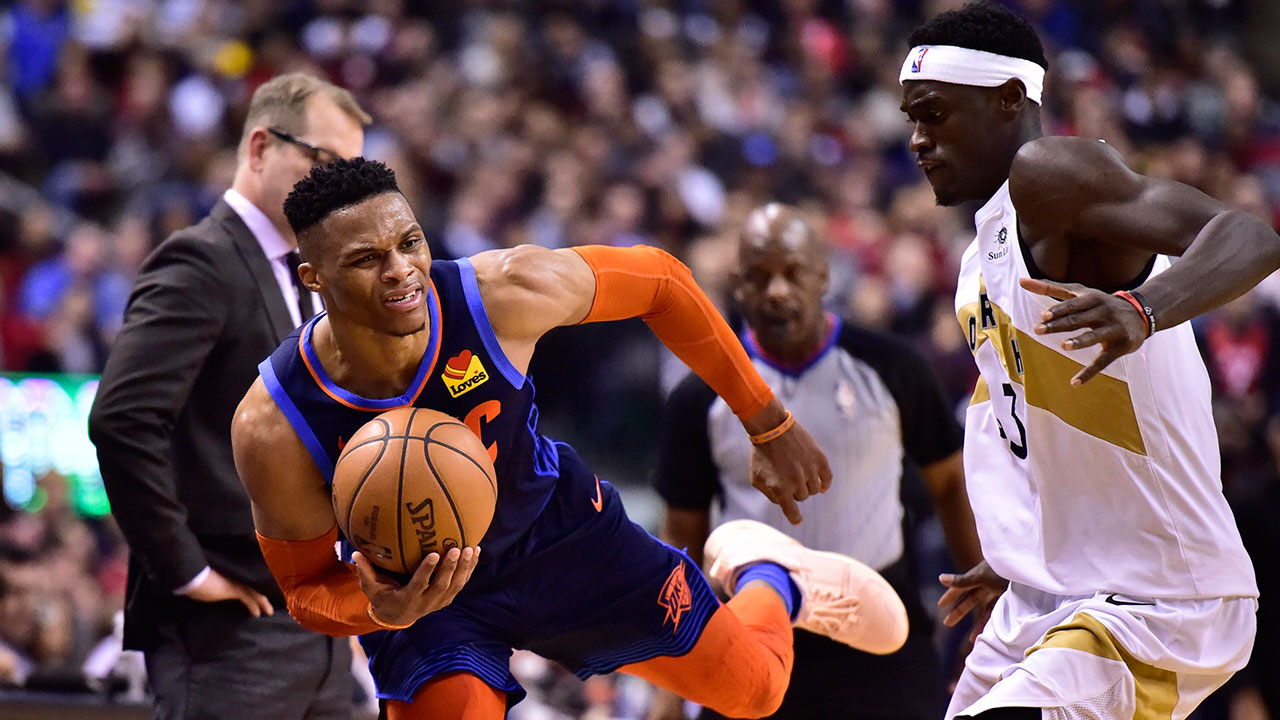 Raptors drop decision to Thunder two nights after winning in OT
