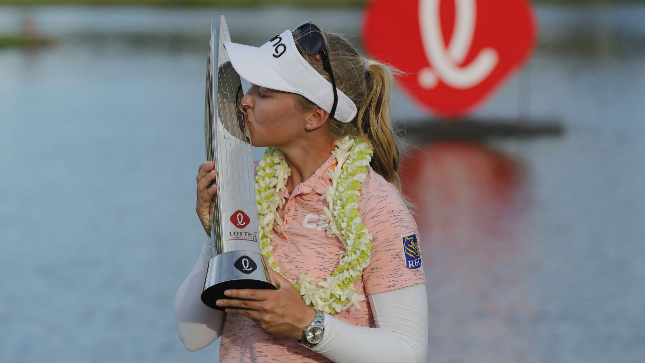 Q&A: Brooke Henderson reflects on LPGA Tour win No. 8