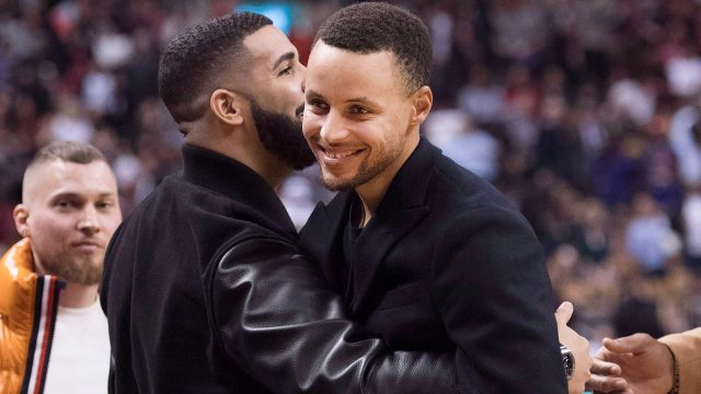 drake-hugs-steph-curry