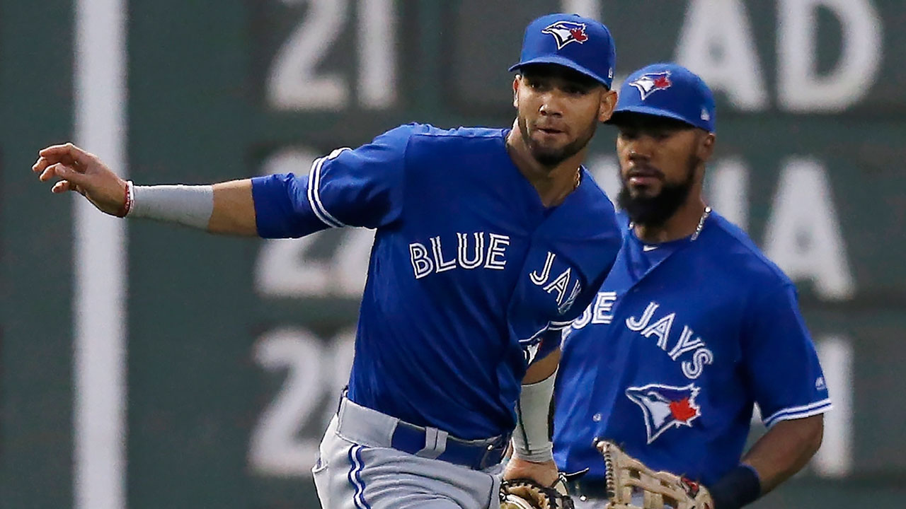 Blue Jays' Gurriel Jr. not showing any growing pains in left field